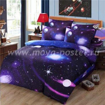 Постельное белье Космос CK012 (евро, 70*70) в интернет-магазине Моя постель