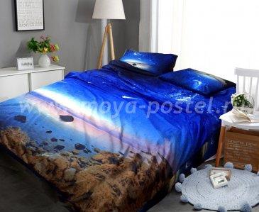 Постельное белье Космос CK014 (двуспальное, 50*70) в интернет-магазине Моя постель