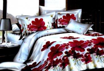 Постельное белье TS03-021 сатин Евро 2 наволочки в интернет-магазине Моя постель