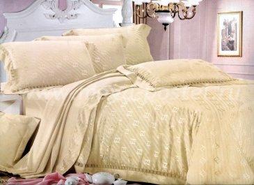 Комплект постельного белья TJ300-07 Жаккард евро размер в интернет-магазине Моя постель