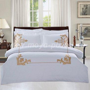 Полуторное постельное белье Kingsilk RP-6-1 с золотой вышивкой в интернет-магазине Моя постель