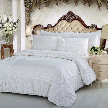 Полутороспальное постельное белье Kingsilk RP-9-1 из перкаля с буфами в интернет-магазине Моя постель