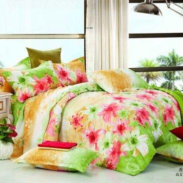 Семейное постельное белье с 3D-принтом Seda VX-87-4 из сатина в интернет-магазине Моя постель