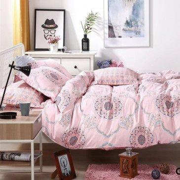 Семейное постельное белье Arlet CD-432-4 розовое в интернет-магазине Моя постель