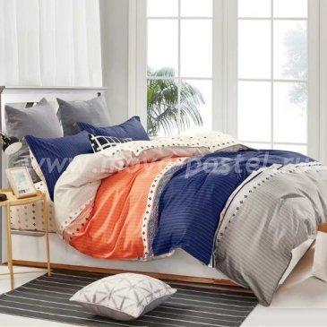 Полутороное постельное белье в полоску Arlet CD-444-1, разноцветное в интернет-магазине Моя постель