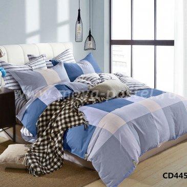 Голубое двуспальное белье Arlet CD-445-2  в интернет-магазине Моя постель