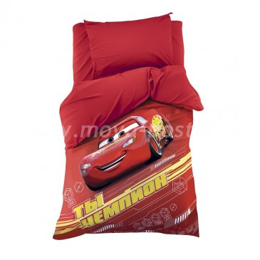 Детское постельное белье Этель Disney ETP-112-1 Тачки Чемпион в интернет-магазине Моя постель