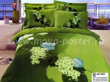 Кпб сатин Евро 2 наволочки (цветущая калина) в интернет-магазине Моя постель