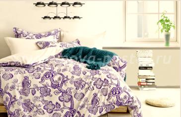 Бежевое постельное белье Twill (семейное) в интернет-магазине Моя постель