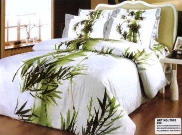 Кпб сатин Евро 2 наволочки (заросли бамбука) в интернет-магазине Моя постель