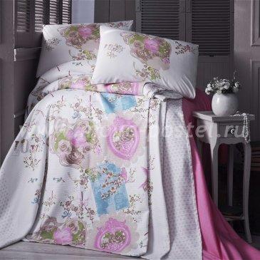 Постельное белье Evim EV-18-3 с простыней для укрывания в интернет-магазине Моя постель