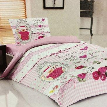 Постельное белье Teen LB-05-1 Kiss в интернет-магазине Моя постель