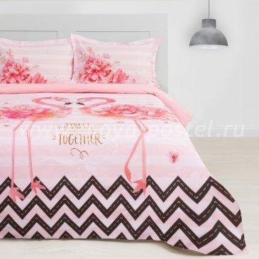 Постельное Этель ETP-213-3 Розовый фламинго в интернет-магазине Моя постель
