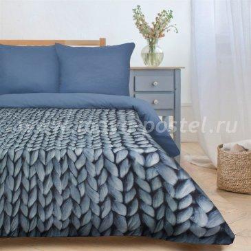 Постельное белье Этель ET-505-1 Мягкие сны синий в интернет-магазине Моя постель