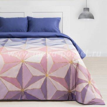 Постельное белье Этель ET-511-3 Даймонд лазурный в интернет-магазине Моя постель