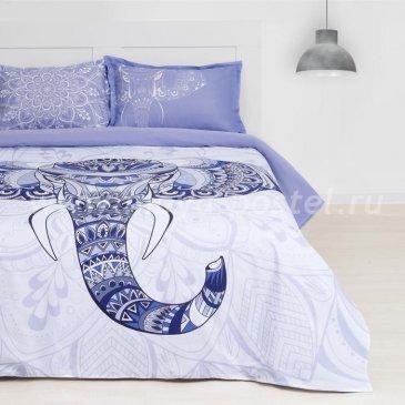 Постельное белье из ранфорса Этель ETR-690-1 Слон в интернет-магазине Моя постель