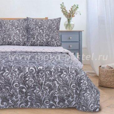 Постельное белье Этель ETP-200-3 Вензель серебро в интернет-магазине Моя постель