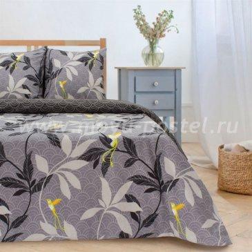 Постельное белье Этель ETP-204-2 Парадайс (вид 2) серый в интернет-магазине Моя постель