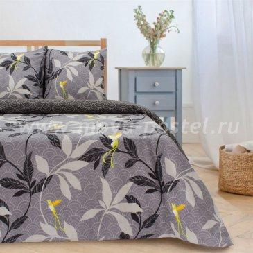 Постельное белье Этель ETP-204-4 Парадайс (вид 2) серый в интернет-магазине Моя постель