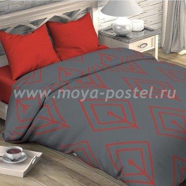 Постельное белье Этель ETP-206-2 Лепесток коралловый в интернет-магазине Моя постель