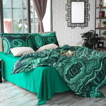 Постельное белье Этель ET-360-3 Минералы Малахит, евро размер в интернет-магазине Моя постель
