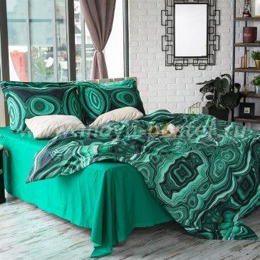 Постельное белье Этель ET-360-3-70 Минералы Малахит в интернет-магазине Моя постель