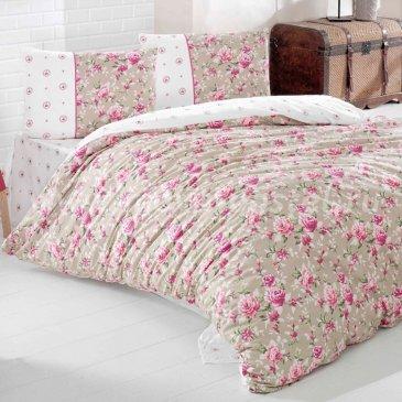 Постельное белье Irina Home IH-16-3 Azya Kirmizi в интернет-магазине Моя постель