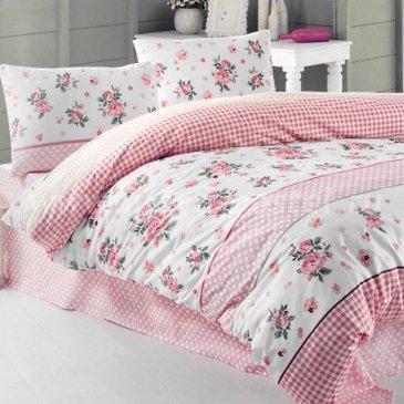 """Постельное белье Irina Home IH-22-3 Linda Kirmizi """" в интернет-магазине Моя постель"""