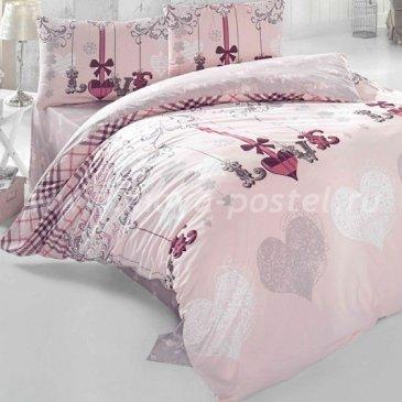 Постельное белье Irina Home IH-23-3 Love Me Pudra в интернет-магазине Моя постель