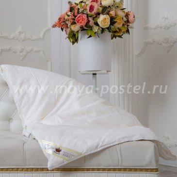 Одеяло Kingsilk Elisabette Люкс L-140-0,6, летнее полуторное, белое в интернет-магазине Моя постель