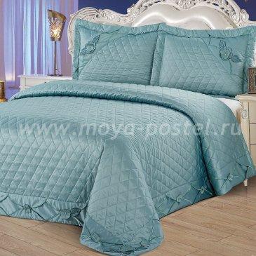 Покрывало Kingsilk YG-11-160, голубое  - интернет-магазин Моя постель