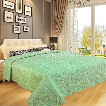 Покрывало DA Classic 34-2-230 светло-зеленое - интернет-магазин Моя постель