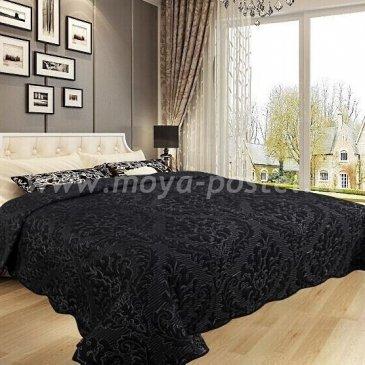 Покрывало DA Classic 36-8-230 черное - интернет-магазин Моя постель