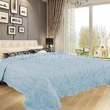 Покрывало DA Classic 39-4-230 светло-голубое - интернет-магазин Моя постель