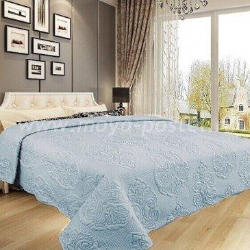 Покрывало DA Classic 35-4-230 светло-голубое - интернет-магазин Моя постель