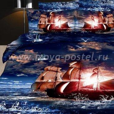 Постельное белье DA Premium-3D PR-044-3 в интернет-магазине Моя постель