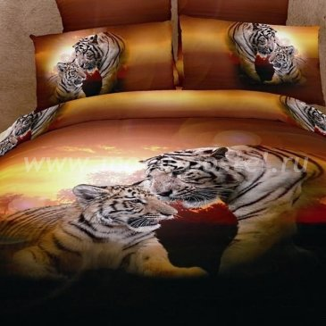 Постельное белье DA Premium-3D PR-328-3 в интернет-магазине Моя постель