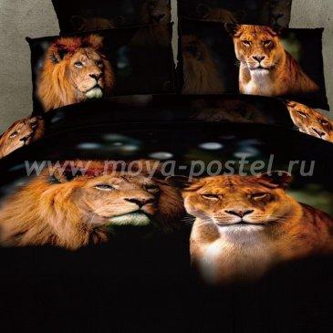 Постельное белье DA Premium-3D PR-329-2 в интернет-магазине Моя постель