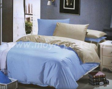 Двухцветное постельное белье 1014-JT44-BR, евро в интернет-магазине Моя постель