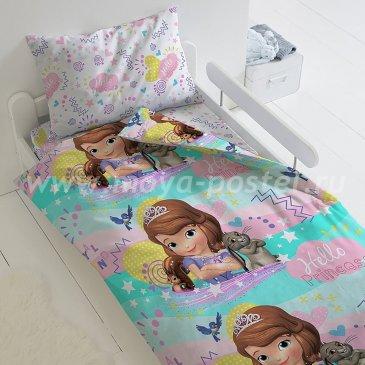 Детское постельное белье Этель Disney ETP-115-1 София в интернет-магазине Моя постель