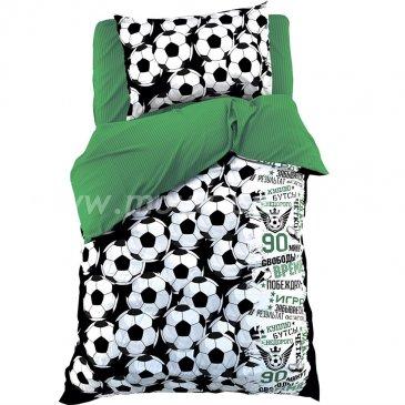 Детское постельное белье Этель ETB-106-1 Футбол и мячи в интернет-магазине Моя постель