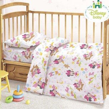 Детское постельное белье Этель Disney ETD-454-b Малышка Минни в интернет-магазине Моя постель