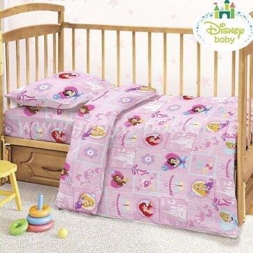 Детское постельное белье Этель Disney ETD-451-b Принцессы в интернет-магазине Моя постель