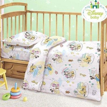 Детское постельное белье Этель Disney ETD-455-b Сладких снов в интернет-магазине Моя постель