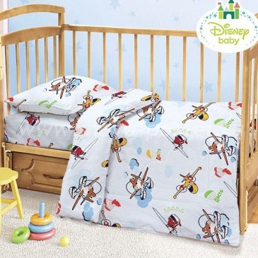 Детское постельное белье Этель Disney ETD-457-b Самолеты в интернет-магазине Моя постель