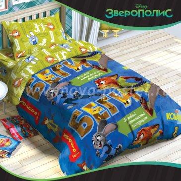 Детское постельное белье Этель Disney ETB-104-1 Зверополис в интернет-магазине Моя постель