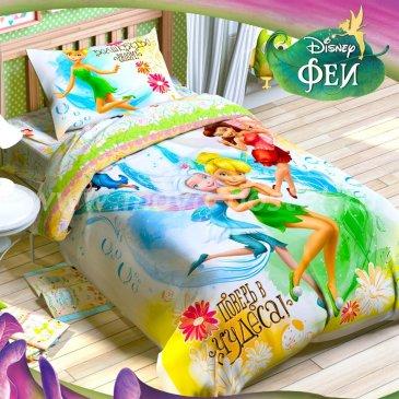Детское постельное белье Этель Disney ETP-101-1 Феи Чудеса в интернет-магазине Моя постель