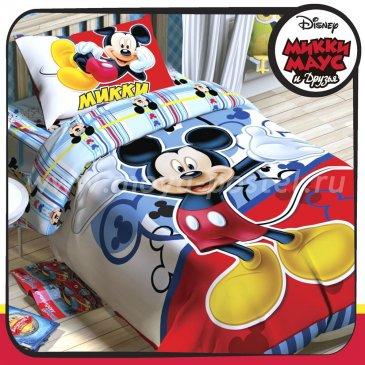 Детское постельное белье Этель Disney ETP-105-1 Микки Маус в интернет-магазине Моя постель