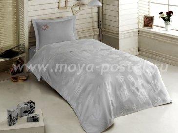 КПБ Hello Kitty с покрывалом (серый) в интернет-магазине Моя постель