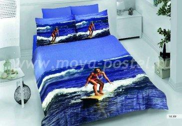 КПБ Bamboo 3D Digital (серфингистка) в интернет-магазине Моя постель